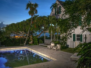Luxuriously Restored Historic Hilltop Estate with Harbor & Ocean views