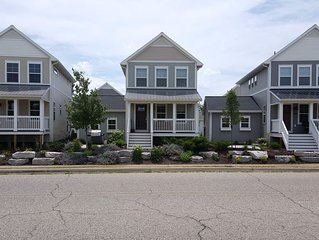 Modern 2BR/3.5BA home - steps to Harbor Shores Golf Course & stunning beaches
