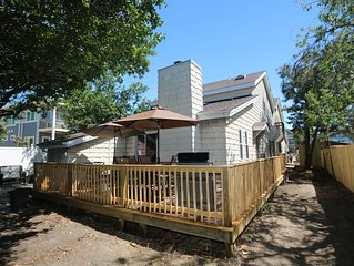Beautiful, newly remodeled North End home just steps from the beach!