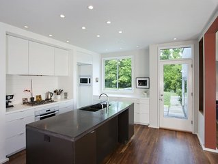 Woolen Mills Retreat | Modern home with pool, close to Downtown/ UVA, and locate