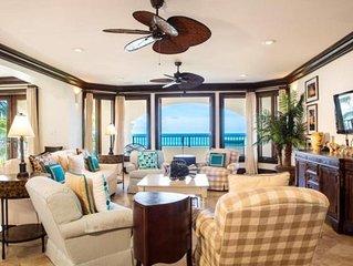 Luxury 3 Bedroom Ocean Front Villa on Grace Bay - ACCESS TO SOMERSET RESORT