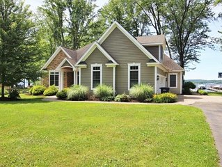 6465 Galloway - Modern lakefront home in Dewittville, great for the whole family
