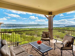 Hollows Resort Villa with Panoramic Lake & Hill Country Views