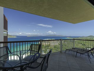 Virgin Island View II - Remodeled, Wrap Around Balcony with Magnificent Views!
