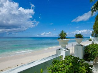 MILORD VILLA BARBADOS - LUXURY 3 BED BEACH FRONT VILLA - COMPLIMENTARY CONCIERGE