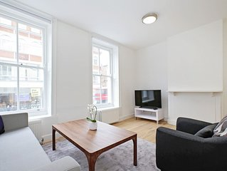 HEART OF LONDON - SOHO - FITZROVIA - BLOOMSBURY - 2BR FLAT