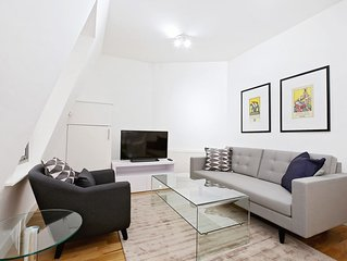 CENTRALLY LOCATED 2BR IN SOHO - FITZROVIA - THEATRE DISTRICT