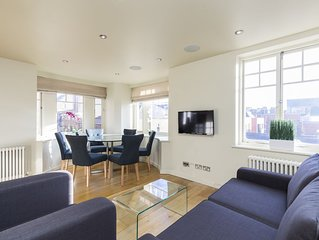 COVENT GARDEN 2BR WITH PRIVATE ROOFTOP TERRACE - MOST CENTRAL AREA OF LONDON!