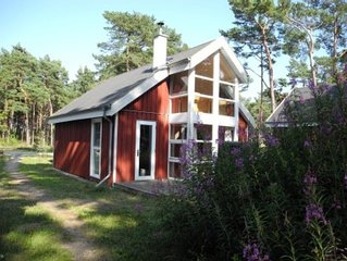 Strandhaus in traumhafter Umgebung von Wald & Meer