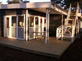 Luxuriös eingerichtetes Strandhaus, nur 30 m bis zum weißen Sandstrand