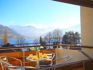 Appartement Seeblick - gemütliche Wohnung in Zell am See mit Balkon, nahe Skilif