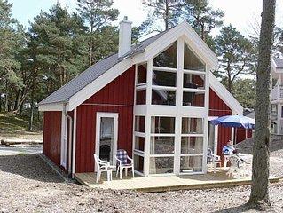 Luxusferienhaus am Strand (ca. 50 m) mit Meerblick, Kamin, Sauna, Whirlpool