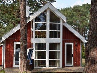 Strandhaus 'Ostseeblick' mit Meerblick, Whirlpool, Sauna u. Kamin, Strandkorb