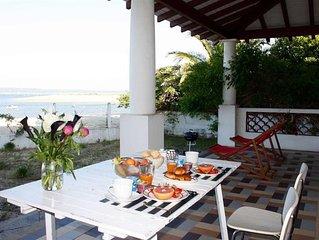 Villa sur plage du Mimbeau, centre Cap Ferret : EXCEPTIONNEL !