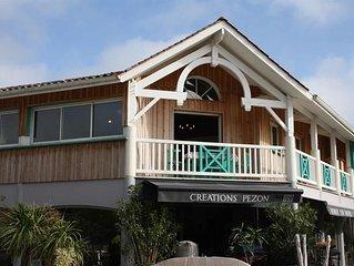 Grand appartement centre Cap Ferret 2 chambres au pied des plages du Bassin