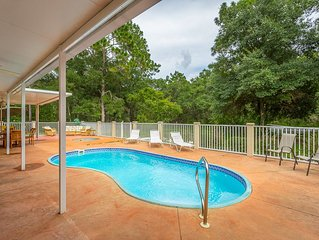 Lighthouse- Large beautiful home, with Pool, Hot tub, Private, large yard, and G