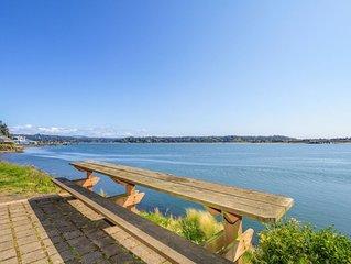 Waterfront Condo with a Private Deck & Exquisite Views of the Bay!