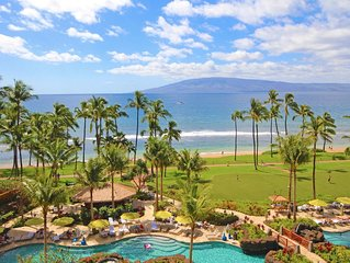 Maui Resort Rentals: Hyatt Residence Club – 2BR Oceanfront Middle Floor VIlla