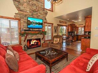 Bear Loop Retreat- Quality Log Home W/Pool Table Game-room! No Pets Allowed