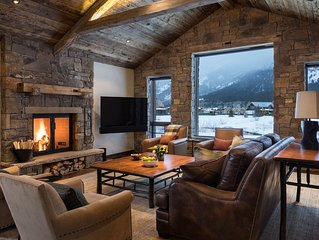 Enjoy Winter in Luxury at this Shooting Star Cabin - Great Dates Still Open
