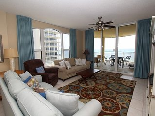 Beach Colony East 7A- Beach Front unit with large terrace & amazing views!