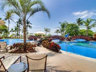 Beachfront condo w/shared pool access, a spacious balcony, and ocean views!
