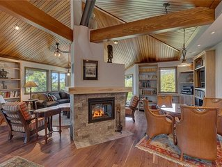 Unique Mountain Home, 180 Degrees Unobstructed Views, Three Levels For Privacy