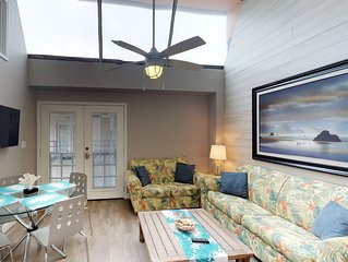 Dog-friendly Anchor Resort condo with shared pools, gym, pier, & more!