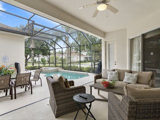 Reunion Luxury Home, Private Pool/Spa, 6 miles from Disney!