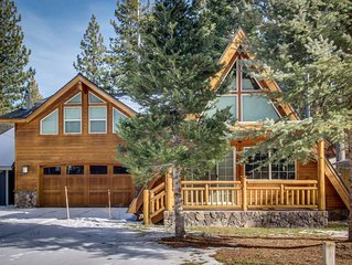 Tranquil, Family-Friendly A-Frame Cabin w/ Private Hot Tub and Big Backyard!