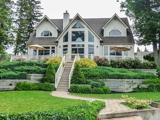 Five Gates: Lakeside Paradise! Seneca Lake Luxury Home!