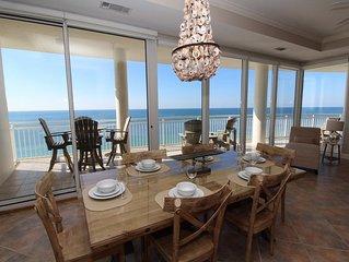 La Playa 1202- Beach Front Views with Luxurious Amenities!