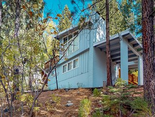 Ski-in/ski-out home with private hot tub, lake views, and close to town!
