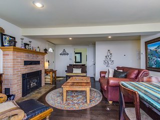 Classic, quiet coastal home with huge deck, only a short walk to the beach