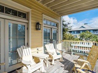 Executive Access Home! Beach District - Gulf Views & Steps from Beach Club