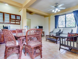 Lower level of new, modern home in a great neighborhood - close to Mayan ruins!