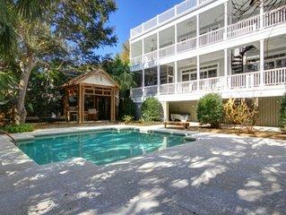 Luxury, Modern Beach Home w/Private Pool, Elevator, & Fabulous Rooftop Deck w/Gr