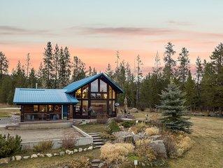 KABINO: Incredible Log Cabin! Easy access- Fish- Snowmobile- Yellowstone- Free W