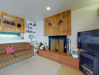 Family-friendly ski-in/ski-out home with shared pool & hot tub