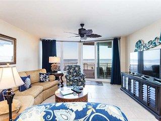 Shores Club 105, 2 Bedrooms, 1st Floor Oceanfront,  Sleeps 6