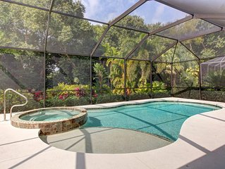 Incredible home with private screened-in pool, lanai, and amazing location!