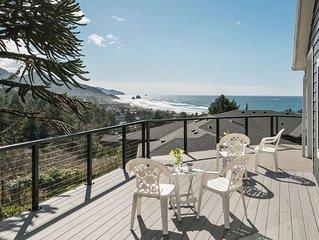 Breathtaking Views, Gorgeous Kitchen, Wrap-around Deck, 3 Blocks to Beach