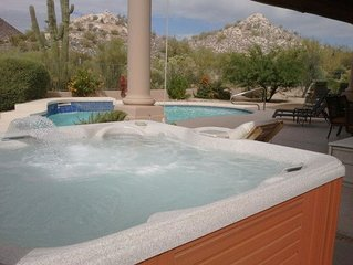 SANITIZED Pool, Hot Tub, Game Room w/ pool table all in this Troon Estate home-