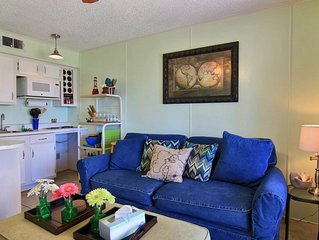 Waterfront condo w/ shared pool, fitness center & beach access