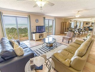 Dreaming Dunes, 4 Bedrooms, Sleeps 8, Ocean Front, WiFi