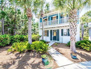 30A-Walk 2 SeagroveBch-2 Pools☀️2 Step Sanitizing Process☀️2BR Blue Sky Bungalow