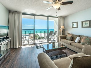 Floor2Ceiling Gulf Front Views☀2 Step Sanitizing Process☀Edgewater Tower 3-307