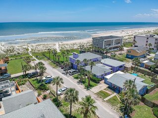 Ocean Blue ~ Excellent Location ~ One house off the Ocean!