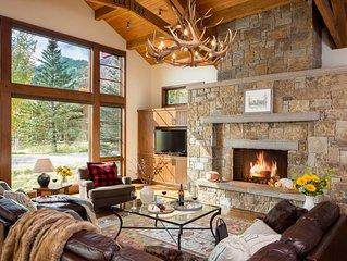 KABINO: 5 Star Lodge with Beautiful Views at Jackson Hole Mountain Resort! Hot T