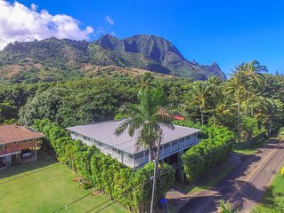 Spacious 5 bedroom home across from beach path! Ka Wai Aloha TVNC-5137